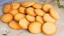 Galletas de mantequilla en pocos minutos y con 4 ingredientes Muy faciles