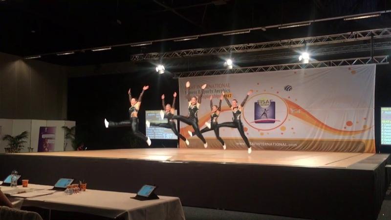 FISAF WC 2017 - Australia- Them Girls