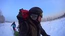 Первый мороз, а мы в лес с палатками (Лотос 3 и БД-2) и печками (Сопутник и Экономка Малая)