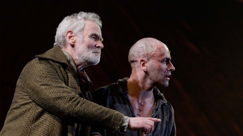 Official Clip Creature Sees Snow For First Time Frankenstein National Theatre at Home