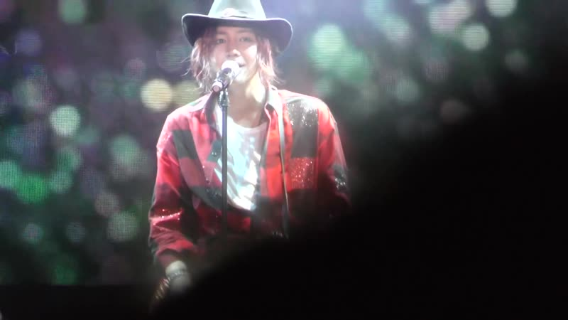 Jang Keun Suk Live in Shanghai 2015 fancams