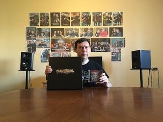 Fleshcrawl – Into The Catacombs Of Flesh LP box set + cd close-up (russian language)