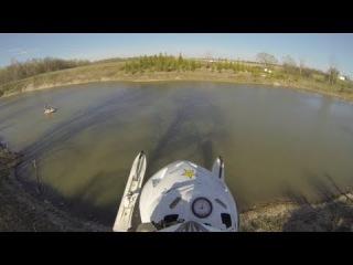 GoProClub : Потопил снегоход при прыжке )