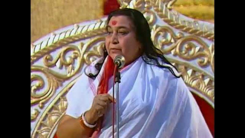 1991 год 7 декабря Публичная Программа Природные качества Духа Мадрас Индия