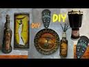 Африканская тематика-МЕГА мастер-класс! DIY Африканскийдекор DIYмаскаизкартона