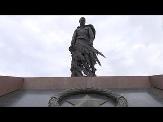 Депутаты Беларуси и России почтили память погибших у памятника Советскому солдату во Ржеве. Панорама