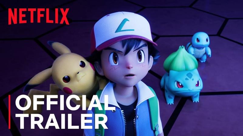 Pokémon: Mewtwo Strikes Back—Evolution  Official Trailer   Netflix