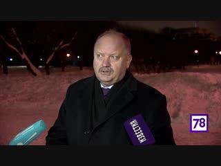 Вице-губернатор Петербурга Николай Бондаренко рассказал о текущей обстановке по уборке снега