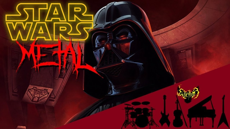 STAR WARS The Imperial March Darth Vader's Theme Intense Symphonic Metal Cover 85k Special