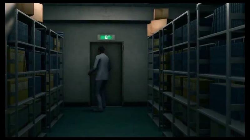 Kiryu Slams a Desk and leaves