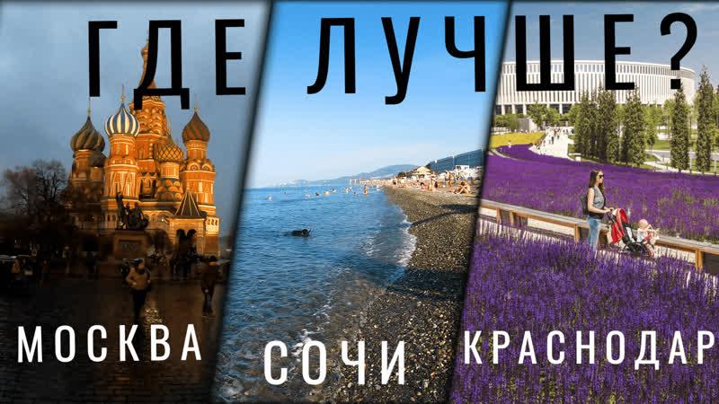 Москва Сочи Адлер Краснодар Мой отпуск в 2020