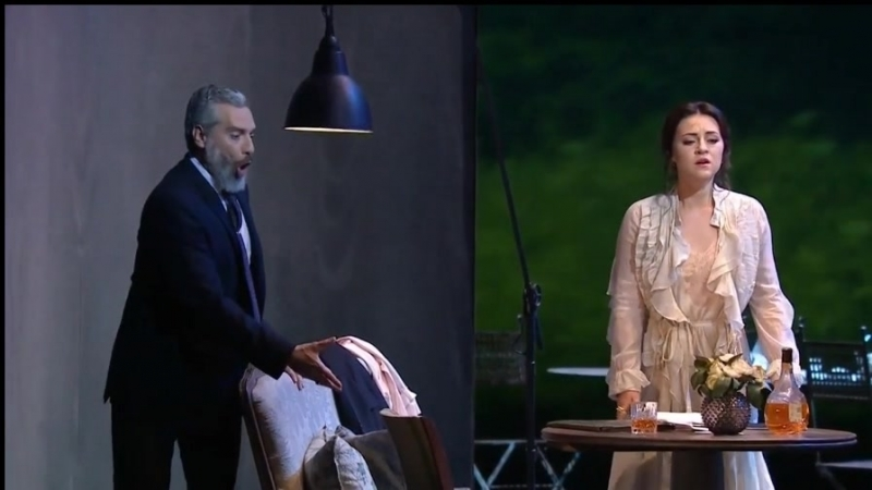 Giuseppe Verdi. La Traviata.2014, Glyndebourne, Venera Gimadieva, Michael Fabiano