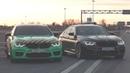 BMW M5 F90 vs BMW M5 F90! Булкин ПРОТИВ Гурама DSC OFF! Две одинаковые М5 на 800 сил!