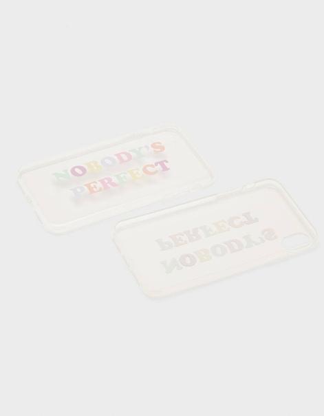 Чехол для iPhone XR с надписью
