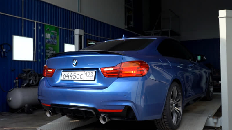BMW 4 Series exhaust