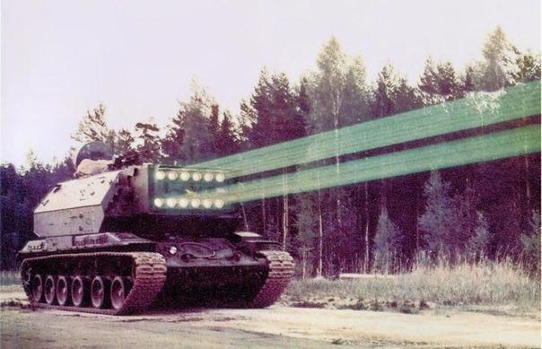1К17 «Сжатие» советский и российский самоходный лазерный комплекс для противодействия оптико-электронным приборам противника Серийно не производился.Разработкой лазерного комплекса нового