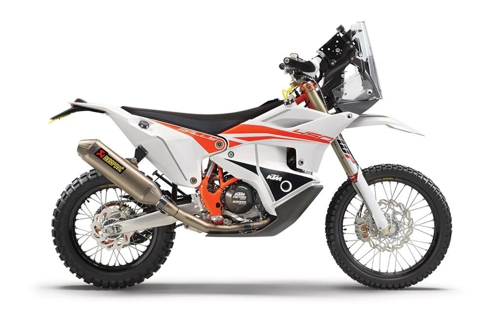 Раллийный мотоцикл KTM 450 Rally Replica 2021