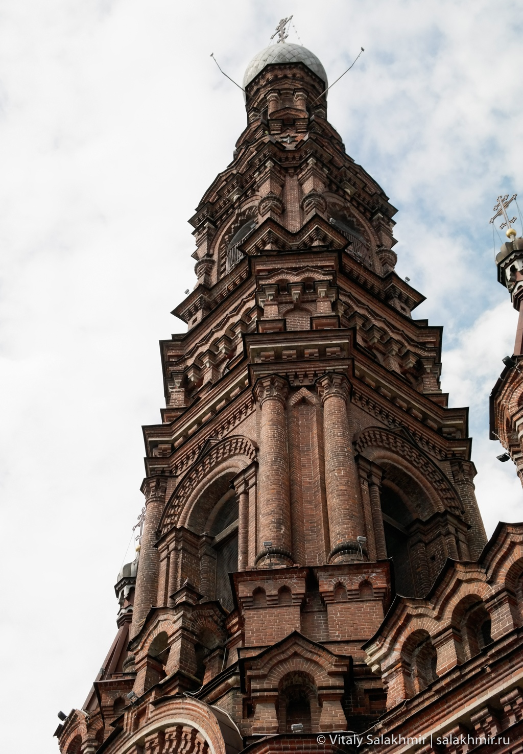 Богоявленская колокольня, Казань, улица Баума
