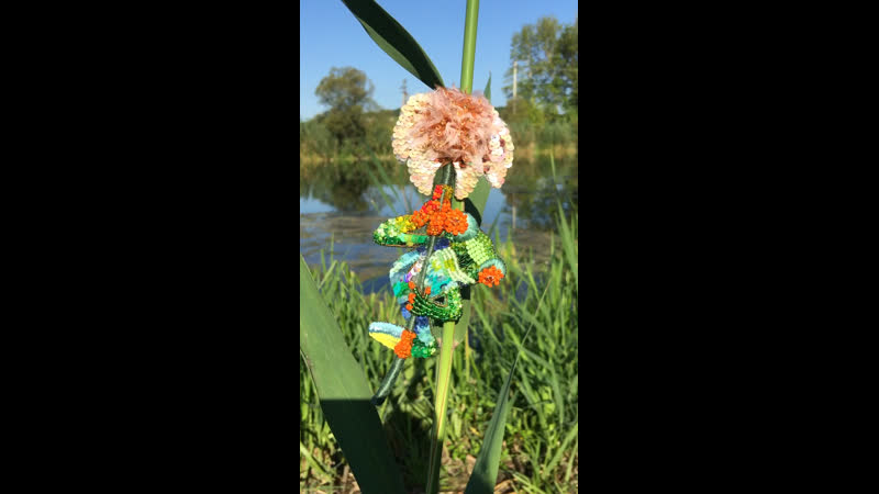 Брошь Царевна-лягушка
