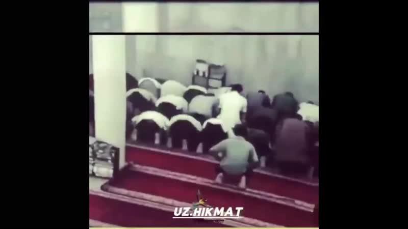 DAXSHAT Masjidda namozda ug'irlik qilayotganlar SOLIXON DOMLA 2020 YANGI JUDA TA'SIRLI MARUZA