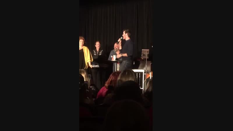 Colin O'Donoghue singing at OUATNJ
