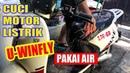 ALANKRIBO- Cara Mencuci Motor Listrik U-Winfly Golden Turtle