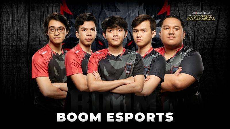 Team Profile BOOM Esports StarLadder ImbaTV Dota 2 Minor Season 3