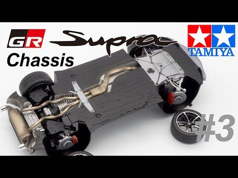 1 24 Toyota GR Supra chassis Tamiya 24351 3