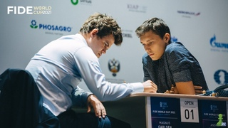 Интервью с Андреем Есипенко — Партия с Магнусом Карлсеном   Кубок Мира