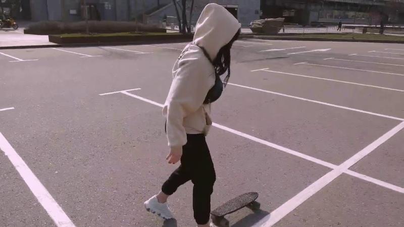 Cool sunny skater day
