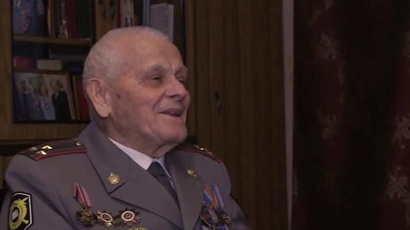 Участник Сталинградской битвы Александр Сгибнев скончался на 97 м году жизни