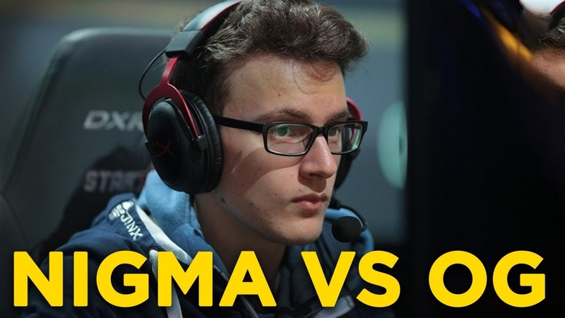 NIGMA vs OG 0 0 ESL One Los Angeles 2020