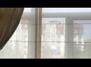 Сочетание классических и римских штор