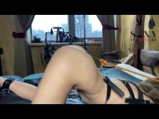 Anastasia Mistress Slave anal bondage spank Russian BDSM hardcore sex kinky porn бондаж крюк в жопе доминирование шлюха унижение
