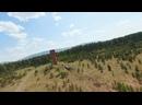 Бокситовая шахта Кургазак. Развалины шахты Блиново-Каменская. Shot on DJI FPV, DJI Mavic Pro.