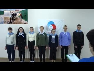 Визитка Макарова Алина Ученик года 2021