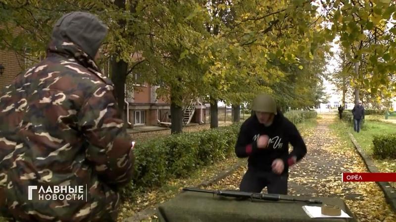 Ветераны общественники из организации Боевое братство провели соревнования Юный гвардеец