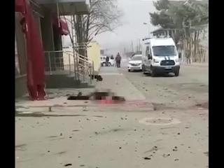 Шесть человек пострадали при взрыве у здания УФСБ в Карачаево-Черкесии (строго 18+)