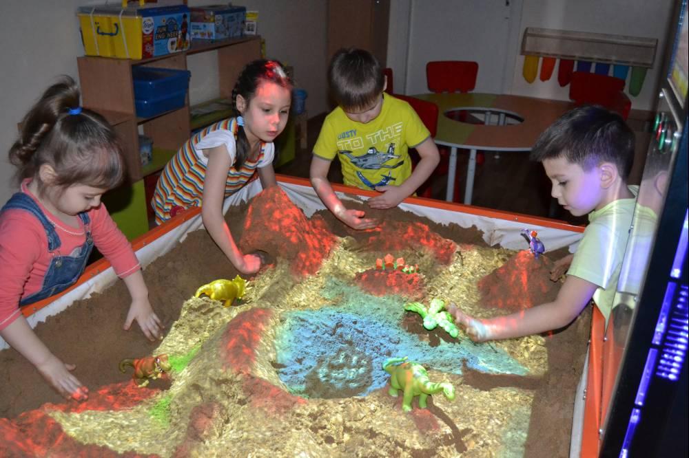 Детские интерактивные песочницы