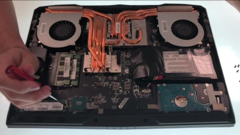 GT62VR GT63 Titan SSD RAM Upgrade