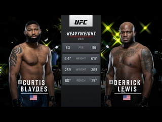 Деррик Льюис vs Кёртис Блэйдс - Вспоминаем бой