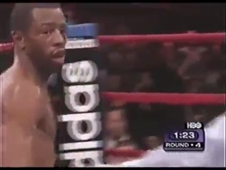4 раунда 6 нокдаунов Принц Насим vs Кевин Келли
