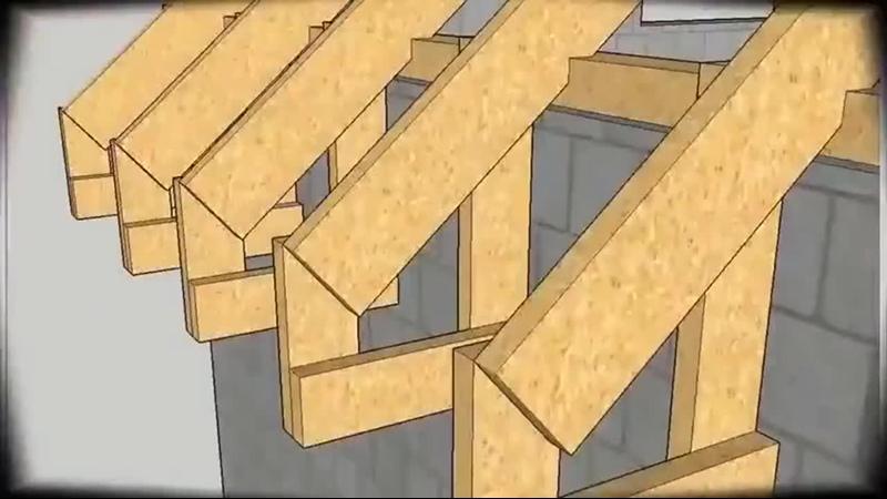 Процесс строительства двускатной крыши ghjwtcc cnhjbntkmcndf ldecrfnyjq rhsib