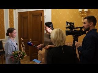 Марфа Николаева Интервью Великий Новгород Кремль 4 марта 2020 г. Вручение Золотой Ладьи