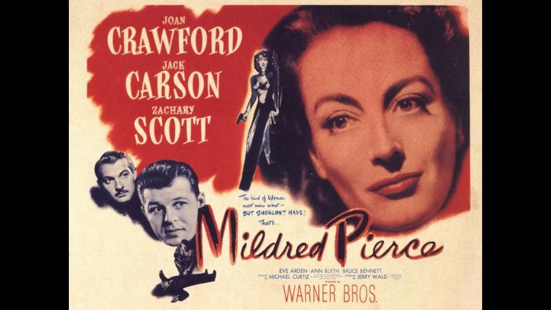Mildred Pierce 1945 Better Quality Joan Crawford Jack Carson Zachary Scott Eve Arden Ann Blyth Bruce Bennett