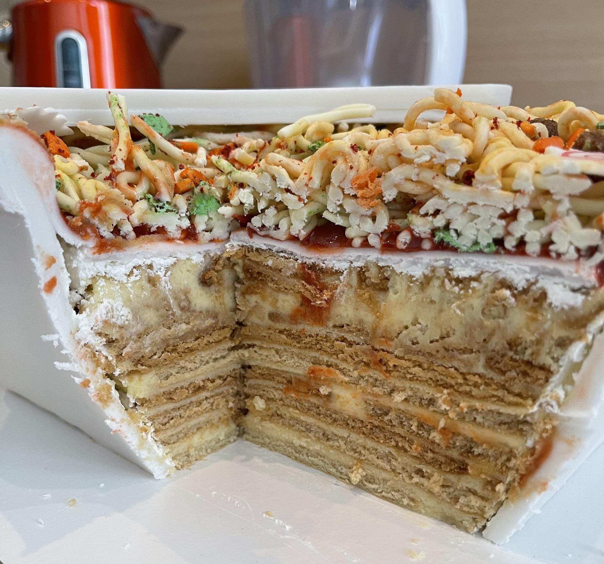 Торт Доширак