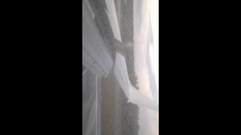 посадка самолёта кросноярск