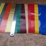 Полоски цветной самоклеющейся пленки, 40 см