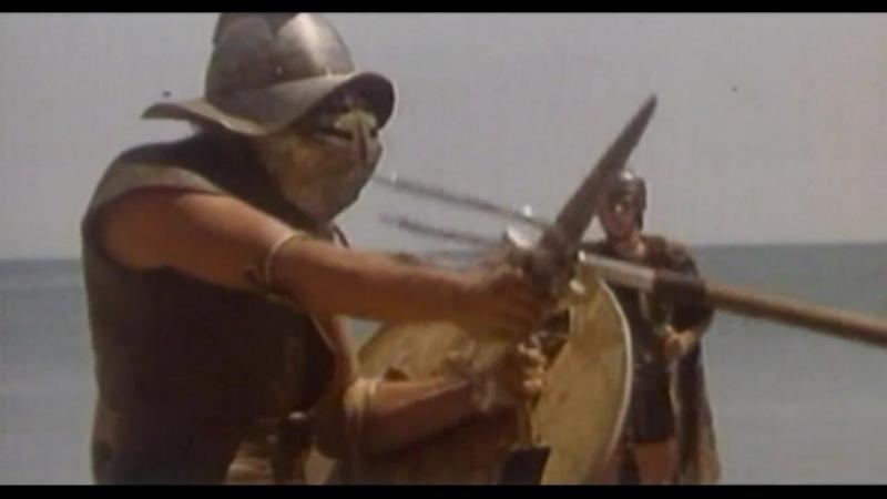 Буребиста 1980 Гладиаторский бой и сражение даков с римлянами