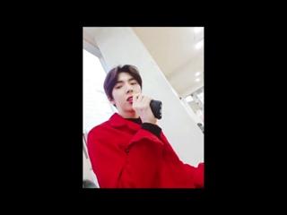SNS: 180222 @ Видео с твиттера группы